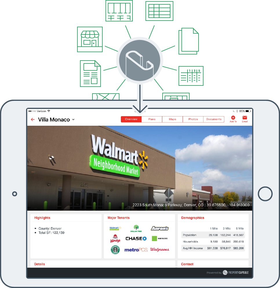 Retail Leasing iPad App